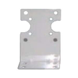 single mounting bracket for standard filter housings with screws