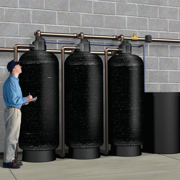 kinetico commercial 3 tank system