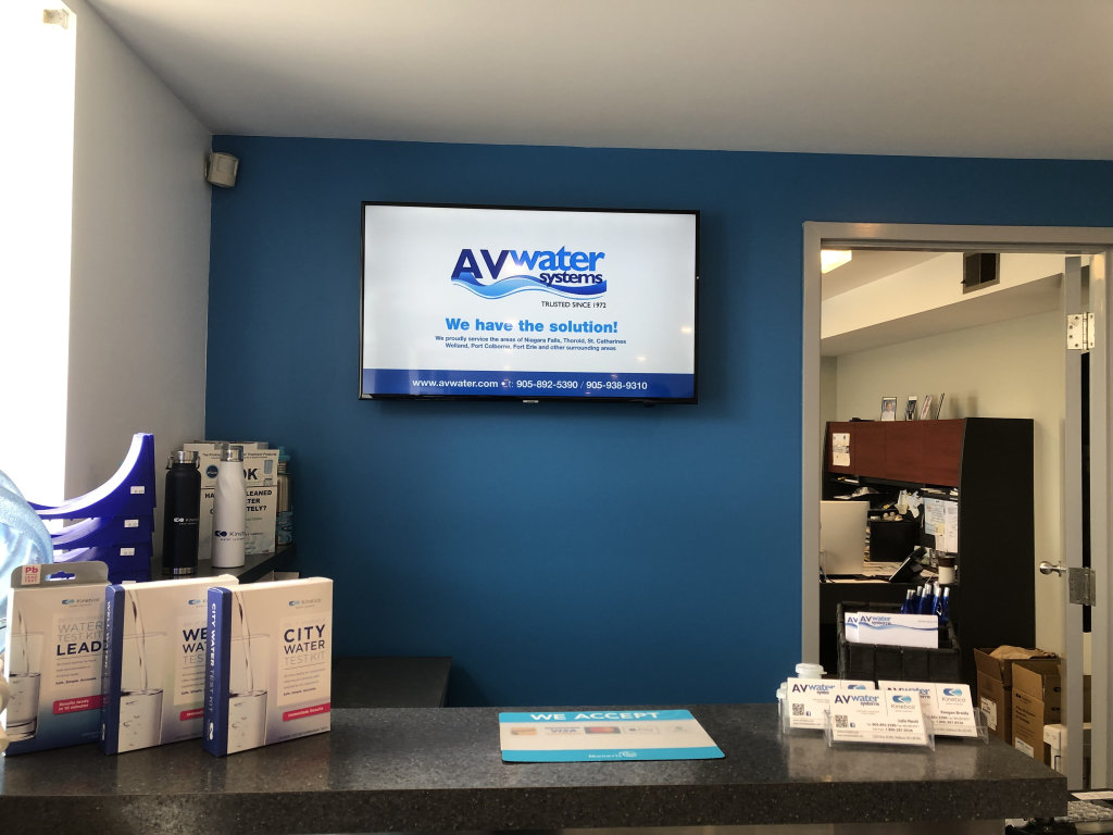 av water media digital media sign