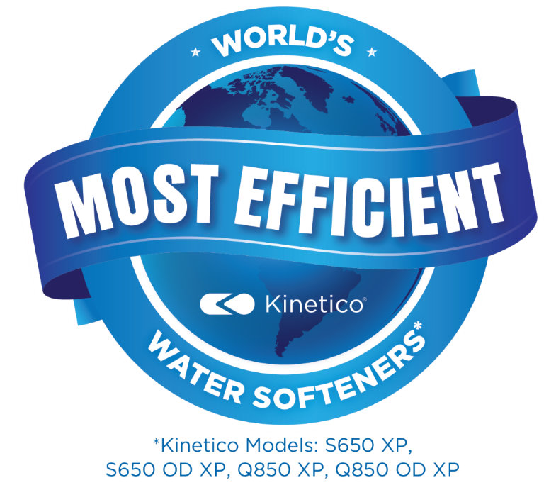 kinetico worlds most efficient logo